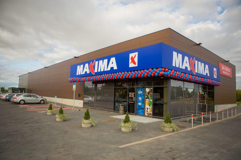 Prekybos tinklo MAXIMA parduotuvės statybos
